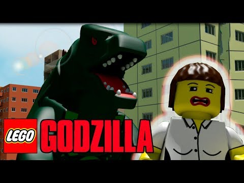 ЛЕГО ГОДЗИЛЛА РУССКИЙ ТРЕЙЛЕР! LEGO GODZILLA PARODY! (Lego 3D-2)