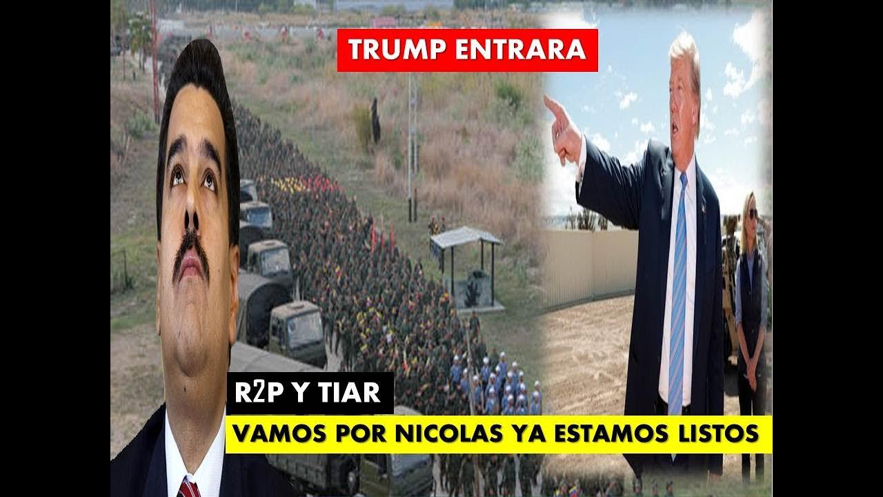 EEUU PERMISOS PARA ENTRAR 🚀 VENEZUELA SE PREPARA 🚀 NICOLAS TIEMBLA
