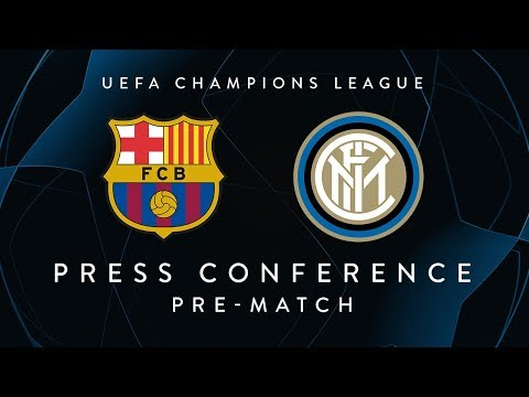 BARCELONA vs INTER    Pre-Match Press Conference LIVE   Icardi, Miranda and Spalletti