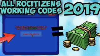 Rocitizens Codes Full List March 2021 We Talk About Gamers