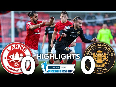 Larne Carrick Rangers Goals And Highlights