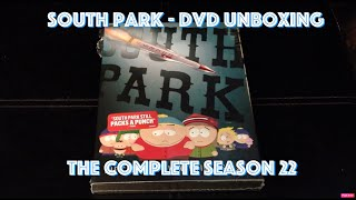 South Park Season 21 - NEW 2018 UNBOXING! DVD Box Set