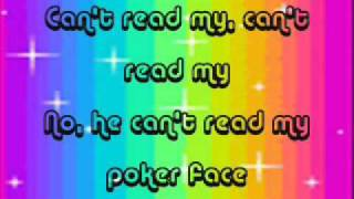 Lady Gaga - Poker Face lyrics