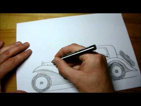 How to Draw Bugatti Royale