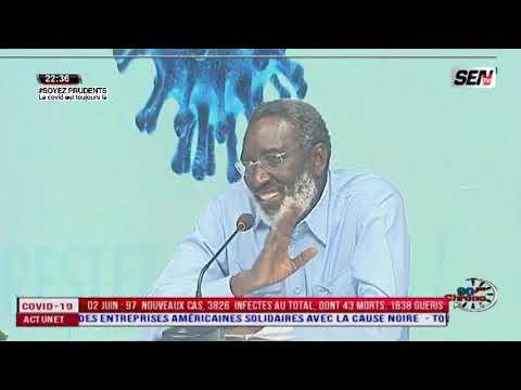 Covid Business: Dr Babacar NIANG fait grave révélations sur..