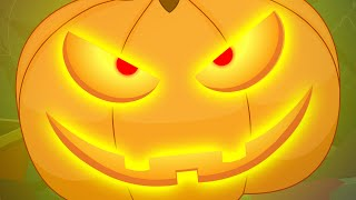 There Is Scary Pumpkin | Scary Nursery Rhymes | Kids Songs | Childrens Rhymes