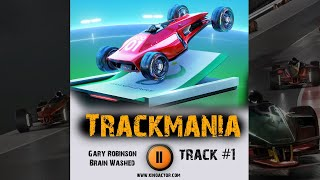 TRACKMANIA 2020 🎮 races game music 2020 OST 1 Gary Robinson - Brain Washed