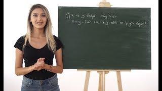 İşaret Dili ile Matematik Soru Çözümleri   Doğal Sayılar #4   Anlatan Eller