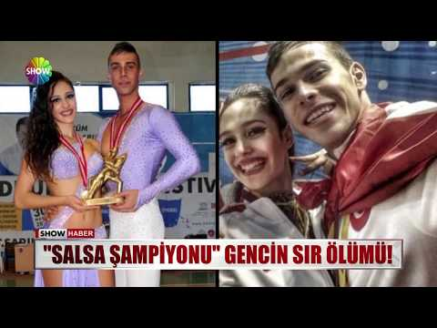 """""""Salsa şampiyonu"""" gencin sır ölümü!"""
