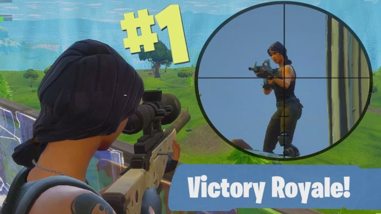 This is why i'm better at Fortnite then you...  (INSANE SNIPER SHOT)