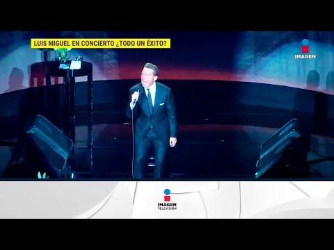 ¡Luis Miguel todo un éxito en el Auditorio Nacional! | De Primera Mano