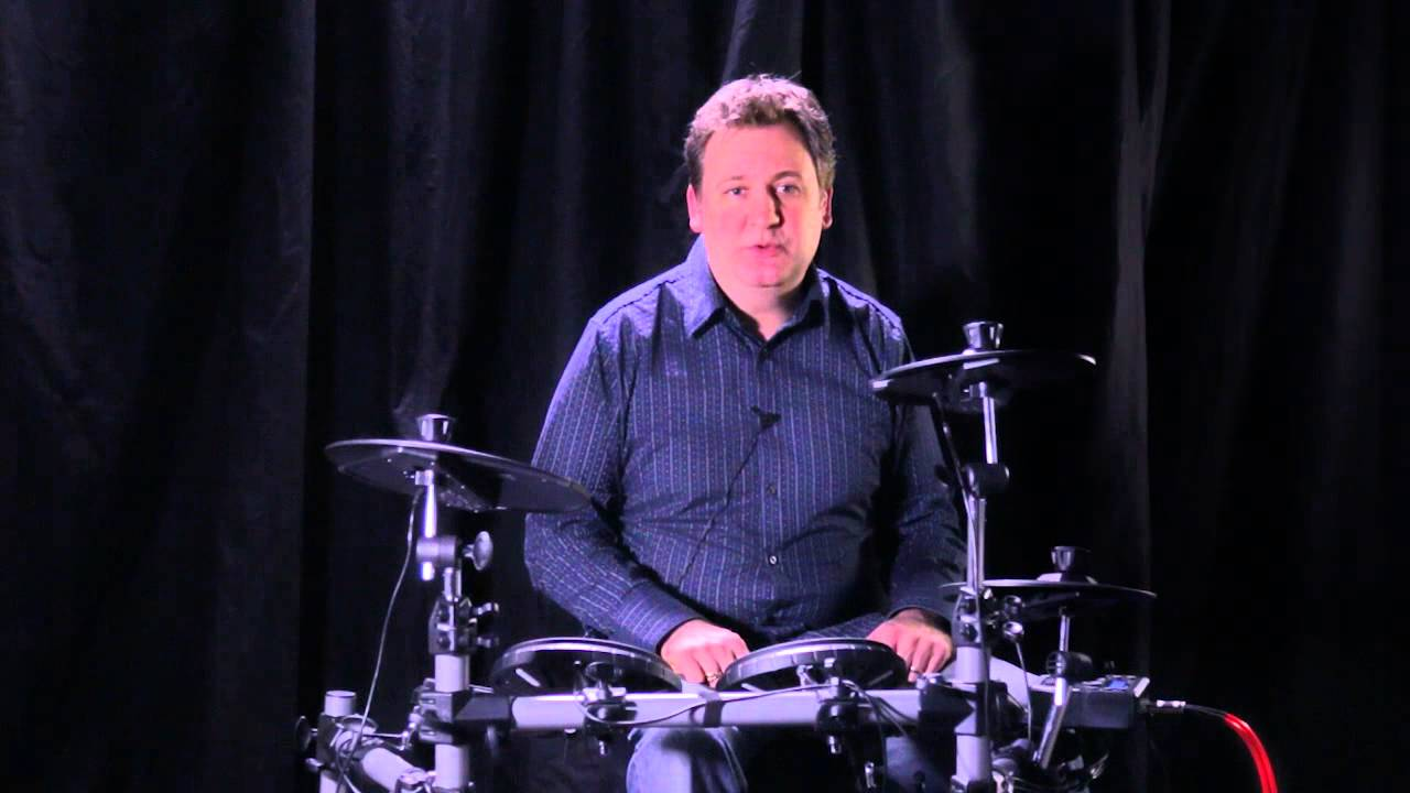 simmons sd500 5 piece electronic drum set standard youtube. Black Bedroom Furniture Sets. Home Design Ideas