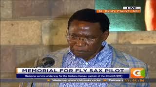 Memorial  for Fly SAX pilot #CitizenExtra