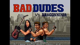 Bad Dudes Vs DragonNinja Stage 2 Music - Megadeth Style guitar cover