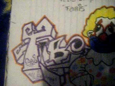 Kae rdkl crew a mandar doovi - Graffitis en papel ...