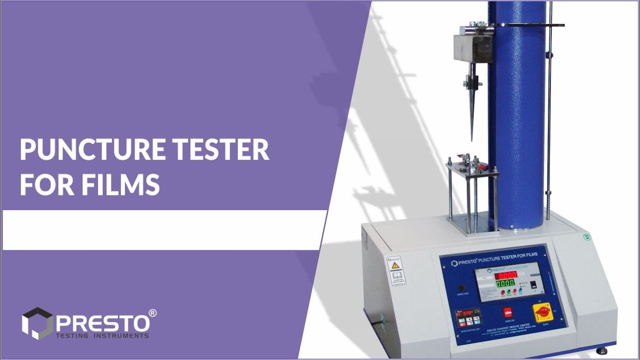 Puncture Tester for Films Manufacturers