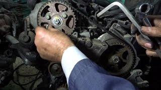 Calage courroie de chaine partner - 406 - 2.0 - تركيب حزام محرك - سلسلة حزام HD