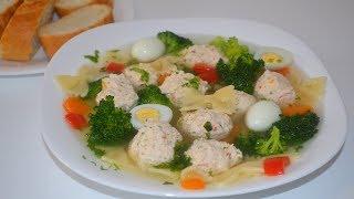 Очень вкусный суп! Суп диетический при гастрите за 20 МИНУТ!
