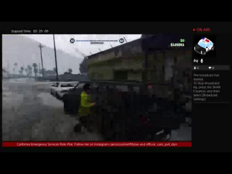 California Emergency Service (CAES) Livestream