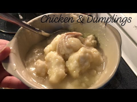Southern Homemade Chicken & Dumplings | Southern Sassy Mama