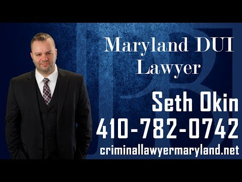 Accused of driving under the influence in Maryland? Attorney Seth Okin talks about what you can do.