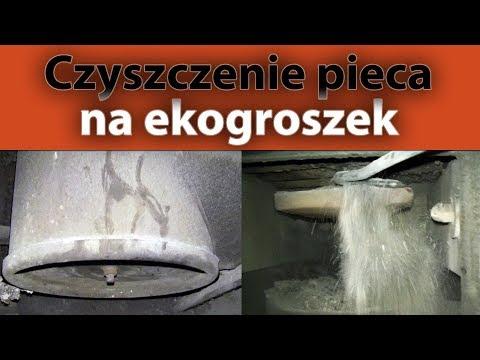 Czyszczenie pieca na ekogroszek - czopuch, retorta, kocioł