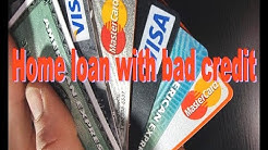 MORTGAGE TYPES  Home loan with bad credit