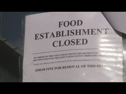 'No violations' - St. Louis County restaurant allowed to remain open after visit from health inspect