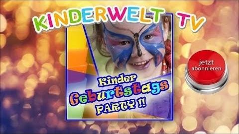 Geburtstagslied - Kinder Party - Endlich Habe Ich Geburtstag (Kinderlied)