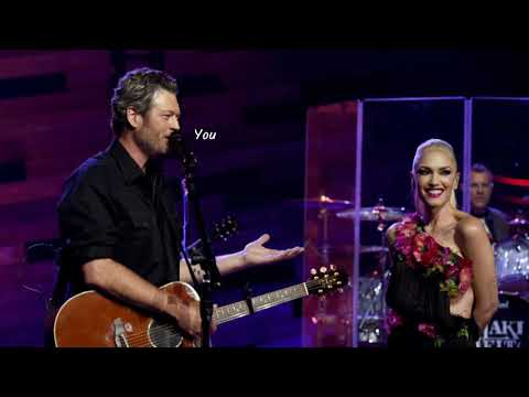Nobody But You - Blake Shelton Duet with Gwen Stefani(Lyrics)
