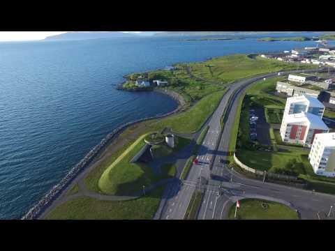 North Coast of Reykjavík (Drone Footage)