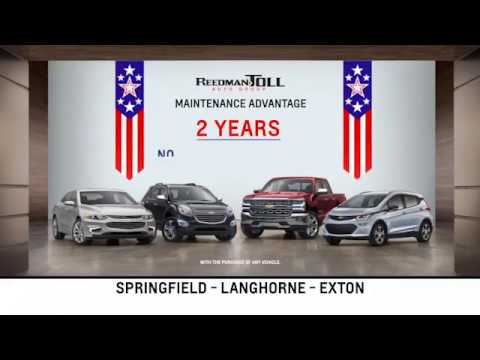 Reedman Toll Auto Group Chevrolet May 2018 Special Offers