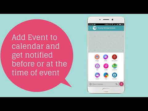 Event Reminders - Airit Chat App