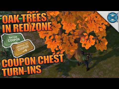 OAK TREES IN RED ZONE & COUPON TURN-INS | Last Day on Earth: Survival | Let's Play Gameplay | S02E46