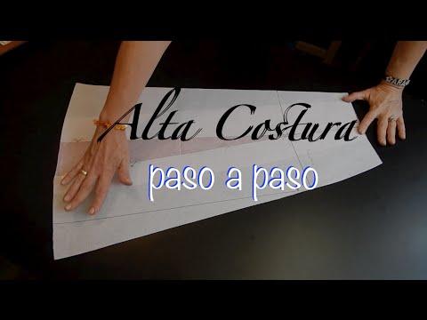 Alta Costura Clase 47A, Falda Vuelo Natural Delantero