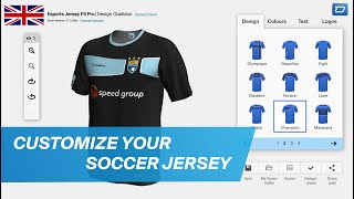 design your own football jersey online