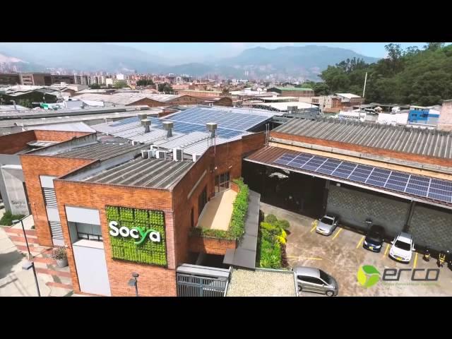 ¡Los paneles solares han llegado a Socya!
