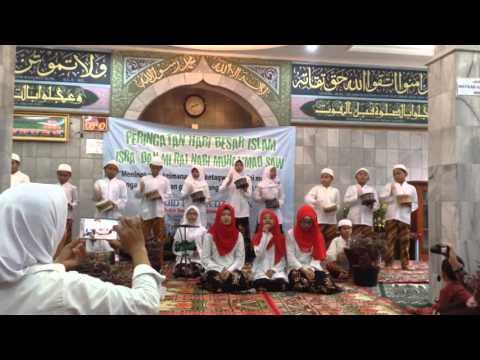 Peringatan Isra Mi'raj Marawis Genaris Masjid Hudha Zakirin 5 Mei 2016