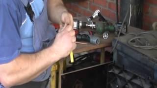Электровальцовка для монтажа кондиционеров своими руками(В этом видео показано как - из автомобильной головки сделать своими силами при помощи болгарки насадку..., 2013-04-15T23:48:36.000Z)