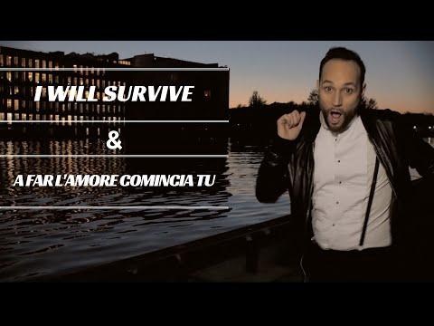I will survive / A far l'amore comincia tu (vintage & retro mashup - Hit's Amore)