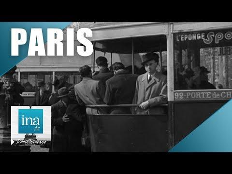 Vues de Paris en 1946 | Archive INA