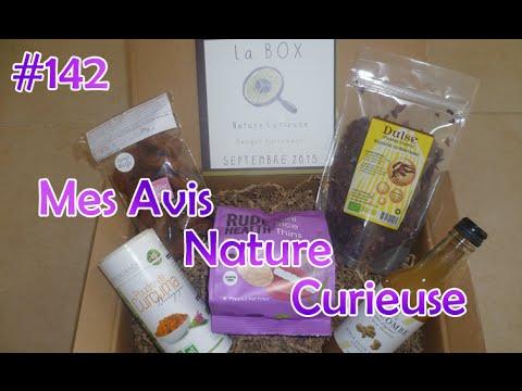 #142  ◊ Box Nature Curieuse ◊ Bio S/gluten S/lait  ◊ Mes avis ◊