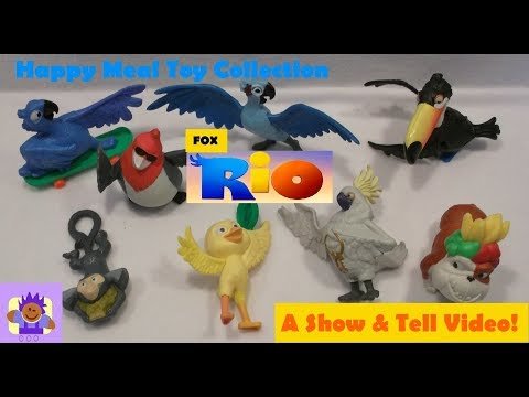 Fox Rio the movie Toy Collection