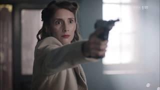 """""""Wojenne dziewczyny"""" – Rzuć broń, bo ją zastrzelę – scena z odc. 36"""