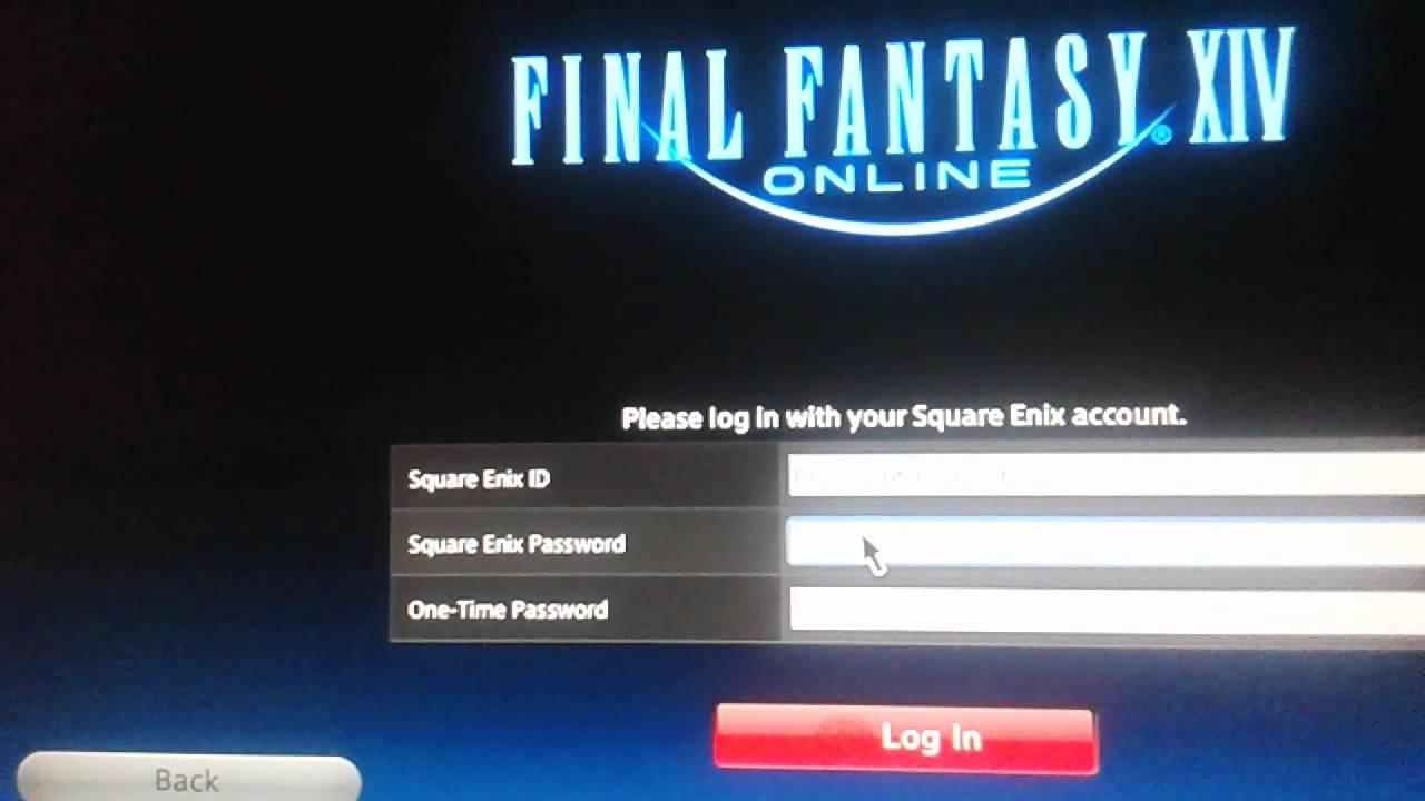 Problem Registering To Final Fantasy Xiv