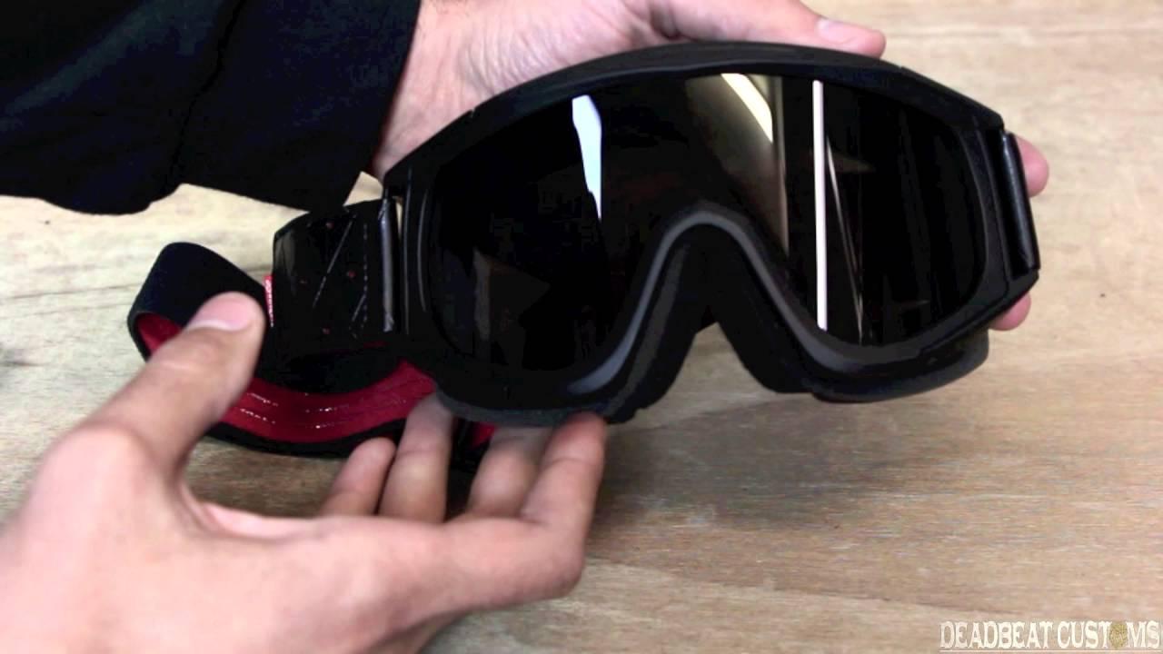 efb33aed26d0 Biltwell Overland Goggle Overview - Deadbeatcustoms.com - YouTube