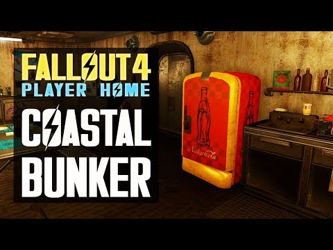 COASTAL COTTAGE BUNKER - Fallout 4 Player Home - Better Homes and Bunkers Vol. 4