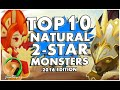 SUMMONERS WAR : TOP 10 2-STAR MONSTERS! (2016)