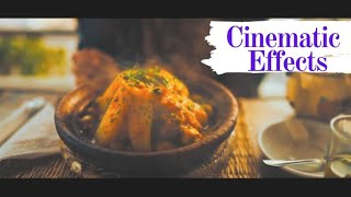 CINEMATIC FOOD COMPILATION VIDEO | cinematic effect