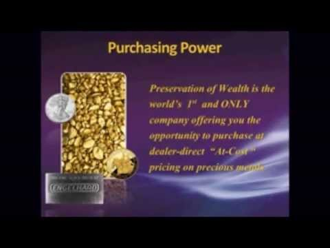Silver Bullion Coins with Preservation of Wealth